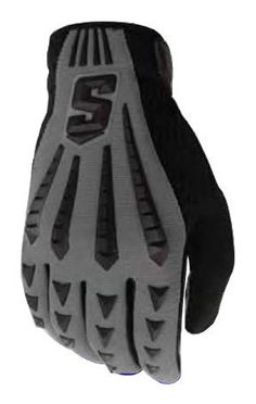 Schutt DNA BLACK LB/Lineman Gloves Youth SM Grey/Black by Schutt. $8.95. Features: - DNA Black is a power driven, multi-position glove with an unsurpassed combination of maximum impact absorption with all-weather palm grip technology. - Maximum topside Energy Shield Technology zone protects hand from direct helmet impact. - Finger gusset venting provides maximum ventilation in extreme conditions