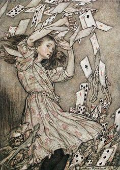 Alice de Arthur Rackham