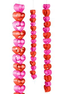 DIY Valentine's Day Heart Garland