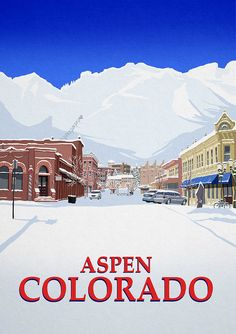 Aspen Art Print by Steve Ash.  All prints are professionally printed, packaged, and shipped within 3 - 4 business days. Choose from multiple sizes and hundreds of frame and mat options.