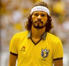 Socrates during the 1982 World Cup