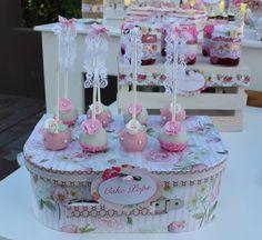 Shabby chic Birthday Party Ideas   Photo 1 of 14