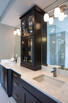 Bathroom Quartz cambria linwood quartz countertop design ideas, pictures, remodel