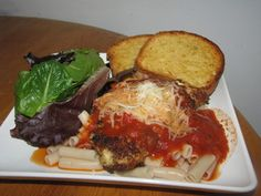 Chicken Parmesan Dinner | Udi's® Gluten Free Bread