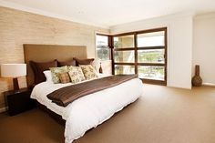 Entertainer - Eden Brae Homes - love this look! liked @ www.homescapes-sd.com #staging #bedroom #homescapes