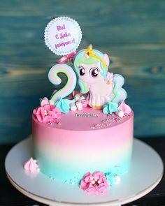 Pretty Cakes, Cute Cakes, Tsum Tsum Birthday Cake, Bolo My Little Pony, Cake Cookies, Cupcake Cakes, Funny Birthday Cakes, Quick Cake, Doughnut Cake