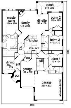 Home plans lot size