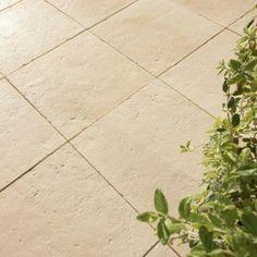 Dalle pierre reconstituée St flour, ton pierre, L.50 x l.50 cm x Ep.22 mm | Leroy Merlin