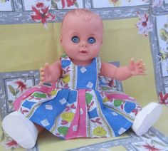 Vintage 1960's Roddy Doll with Dress and by TheCraftyCurioShop