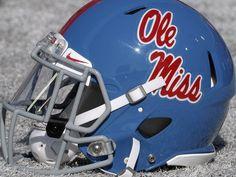 atm vs ole miss - Google Search Powder blue helmets