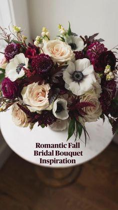Burgundy Wedding, Floral Wedding, Wedding Flowers, Bridal Bouquet Fall, Bridal Bouquets, Amaranthus, Floral Bouquets, White Flowers, Flower Arrangements