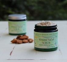 Almond Facial Scrub - pleasant gentle scrub for young skin, sensitive skin and problematic skin.