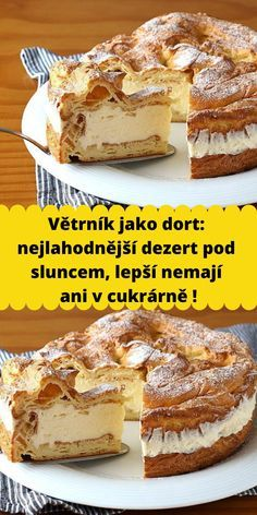 Czech Recipes, How Sweet Eats, Desert Recipes, Sweet Recipes, Food To Make, Sweet Treats, Cheesecake, Food And Drink, Easy Meals