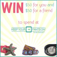 Win $50 To Spend At Keep Your Pants  For You