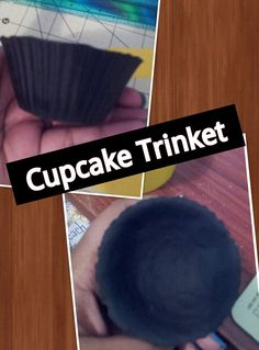 1st Trinket I made in cupcake shape