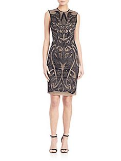 Yigal Azrouel - Embroidered Front Dress