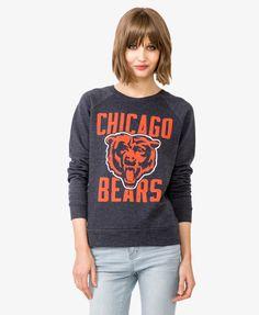 Women's Chicago Bears Nike Navy Blue Rewind Lockup T-Shirt