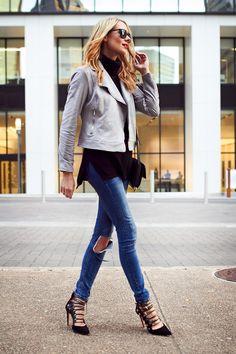 1fbecb598d434 8 Best Grey suede jacket images