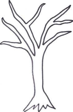 Tree Trunk Printable Templates Coloring Pages FirstPalette