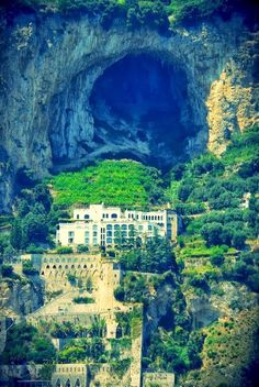 Caves, Amalfi Coast, Italy