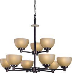 Woodbridge Lighting Ajo Indoor Lighting Chandelier 10067-CDV