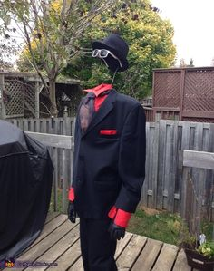 65 coolest diy illusion costumes pinterest illusions costumes invisible man 2015 halloween costume contest via costumeworks solutioingenieria Image collections