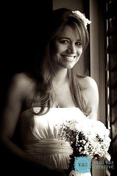Soft window light ... Wedding portrait