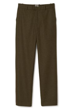 Weekday image 1 of Wind Trousers in Khaki Green