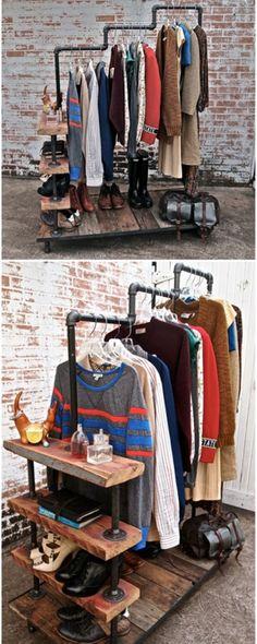Foto : Pipa bekas bisa dibuat gantungan baju seperti ini | Vemale.com, Halaman…