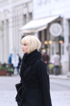 Jennifer Lawrence on the set of Red Sparrow in Vienna, Austria.
