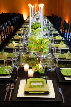 dramatic tablescape http://weddingmusicproject.bandcamp.com/album/wedding-processional-songs-for-brides-bridesmaids