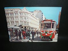 cartão postal curitiba rua xv de novembro rua das flores .