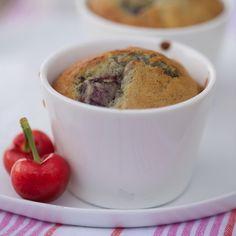 Découvrez la recette des muffins aux cerises