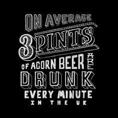 Acorn Brewery Website on Typography Served
