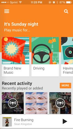 Google Play Music - Bought Songza app Radio. Stream Songza at high quality sound stream. Bring all your songs and introduce them to millions more. Kick back and enjoy custom radio without rules, or listen to playlists customized for your moment, mood, or activity.