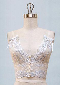 Aberdeen Bralette – Claire Pettibone Heirloom Boutique