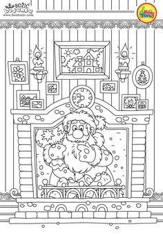 Christmas Coloring Pages - Božić bojanke za djecu - Free Printables for Kids - Christmas Tree, Cookies, Santa Claus and Snowman, Reindeers and more on BonTon TV - Coloring Books Free Printable Coloring Sheets, Free Adult Coloring Pages, Coloring Book Pages, Coloring Pages For Kids, Christmas Coloring Sheets, Printable Christmas Coloring Pages, Christmas Printables, Christmas Tree Drawing, Christmas Trees For Kids