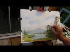 your first landscape - YouTube
