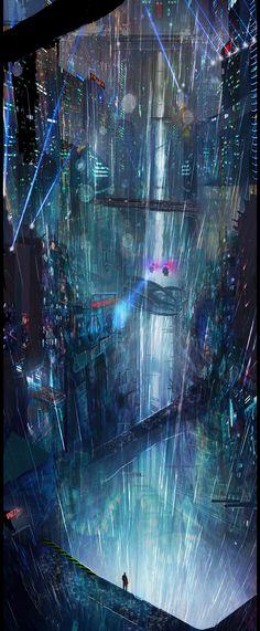 Underworld, Michael Morris on ArtStation at https://www.artstation.com/artwork/3aZvD