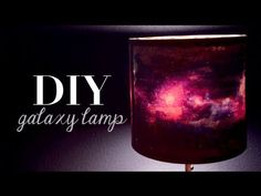 This Lampshade Get's Lined With Galaxy Paper and WOW - Galaxis