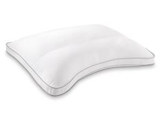 Curved Support Memory Fiber Pillow: Enjoy the individual comfort and support with a pillow that continually adjusts to you. Innovative memory fiber continually adjusts to your head and neck movements for conforming comfort throughout the night. #PillowsToGiveAndGet