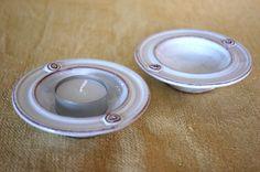 Maud Andersson, Skoby Krukmakeri, Sweden. White small bowls.