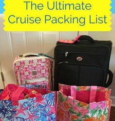One of the keys to a successful trip is to make sure you have everything you need, when you need it. I have compiled a list of things to pack for a 7 day cruise, which can be tailored to your needs…