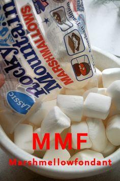 """""""MMF - MarshMellowFondant """"– Schritt für Schritt Anleitung in Bildern"""