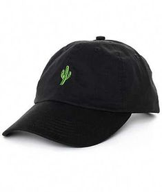 817f3967ccb2a Protect your face from the blistering sun this season with this Solstice  Cactus black baseball hat from Empyre. A great fitting hat