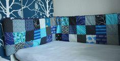 Hyggefabrikken: Sengerand i patchwork Sweet Home, Quilts, Blanket, Kids, Scrappy Quilts, Young Children, Boys, House Beautiful, Quilt Sets