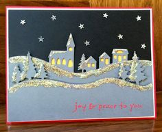 Wintry Night (MCV19) by MeredythG - Cards and Paper Crafts at Splitcoaststampers