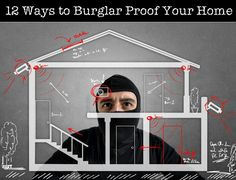 Taking steps to burglar proof your home can keep your home and valuables safe. Here are 12 Ways to Burglar Proof Your Home for the holidays.