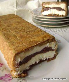 Semifreddo mascarpone nutella e pavesini, ricetta dolce