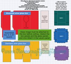 Today I have a free cut file for you! Have you etched a wine glass as a gift for someone? Well, here's a box for you to package your...